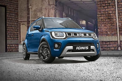 Maruti Ignis Front Left Side Image