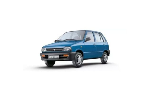 Maruti 800 Front Left Side Image