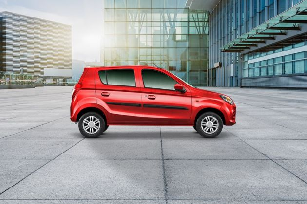 Maruti Alto 800 2016-2019 Side View (Left)  Image