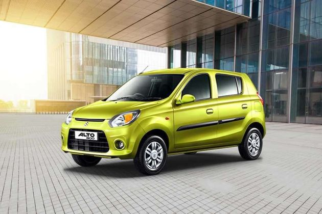 Maruti Alto 800 Front Left Side Image