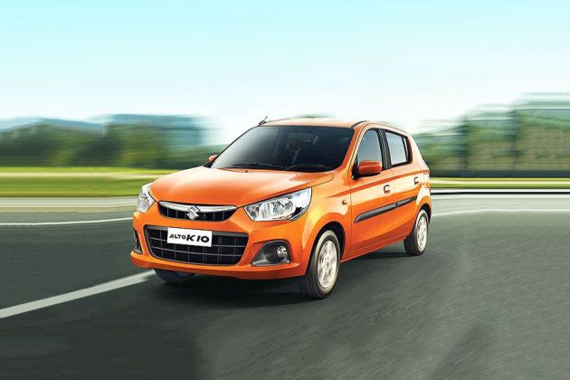 Maruti Alto K10 Front Left Side Image