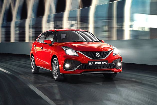 Maruti Baleno RS Front Left Side Image