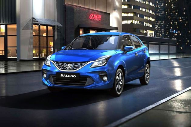 Maruti Baleno Front Left Side Image