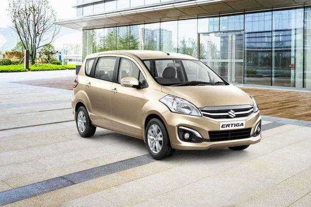 Maruti Ertiga Front Left Side Image