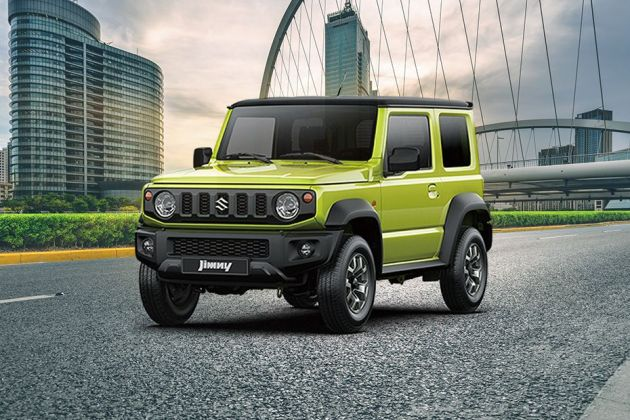 Used Car Loan >> Maruti Jimny Price in India - Launch Date, Images & Spec, Colours