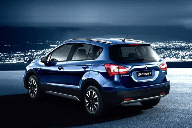 Maruti S-Cross Rear Left View Image