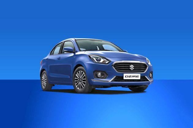 Maruti Dzire 2017-2020 Front Left Side Image