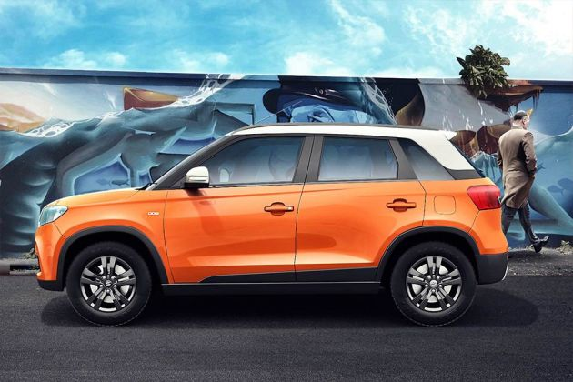 Maruti Vitara Brezza Side View (Left)  Image