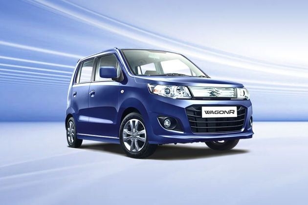 Maruti Wagon R Front Left Side Image