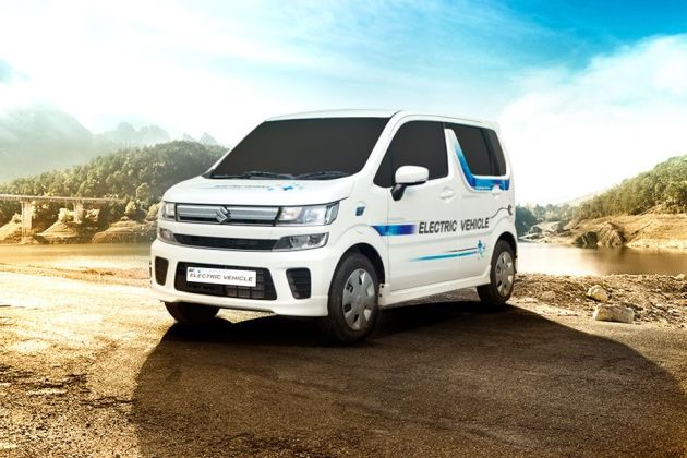 Maruti WagonR Electric Front Left Side Image