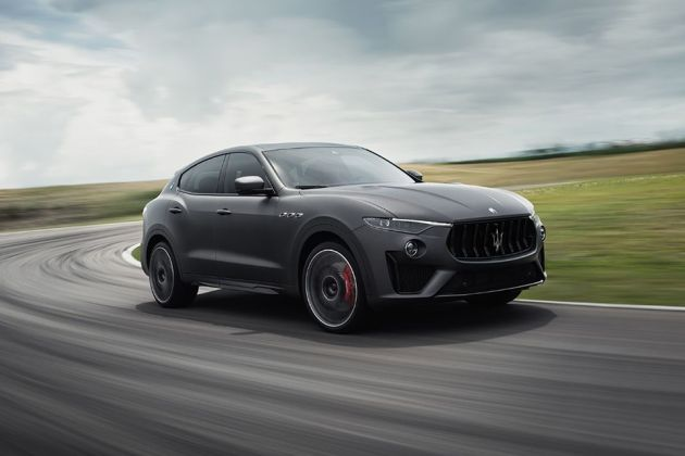 Maserati Levante Front Left Side Image