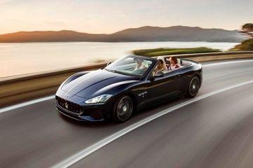 Maserati Gran Cabrio Front Left Side Image
