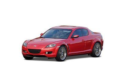 Mazda RX 8 Front Left Side Image