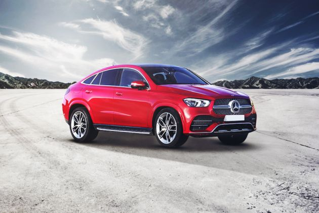 Mercedes-Benz AMG GLE 53 Coupe Front Left Side Image