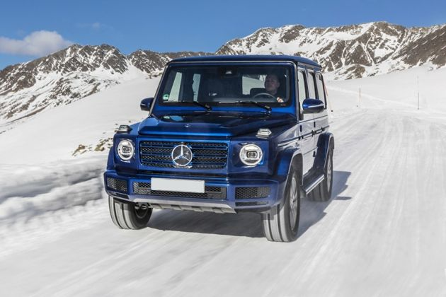 Mercedes-Benz G-Class Front Left Side Image