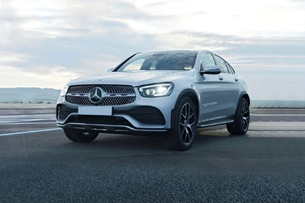 Mercedes-Benz GLC Coupe Front Left Side Image