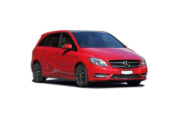 Mercedes-Benz B Class 2012-2015 Front Left Side Image