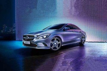 Mercedes-Benz CLA Front Left Side Image