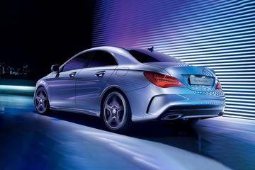Mercedes-Benz CLA Rear Left View Image