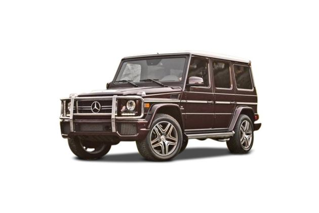 Mercedes-Benz G Front Left Side Image