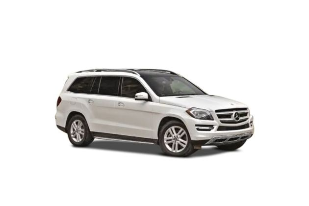 Mercedes-Benz GL-Class Front Left Side Image