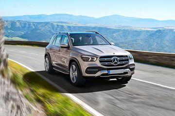 Mercedes-Benz GLE 2019 Front Left Side Image
