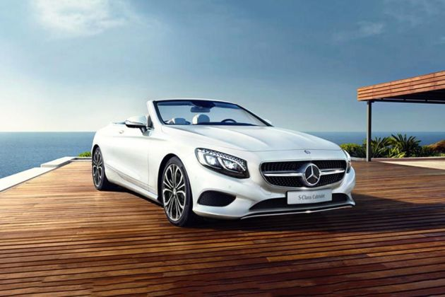 Mercedes-Benz S-Class Cabriolet Front Left Side Image