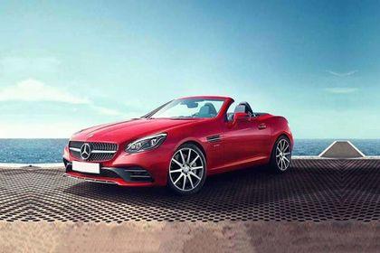 Mercedes-Benz SLC Front Left Side Image