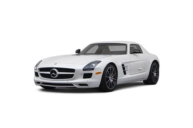 Mercedes-Benz SLS AMG Front Left Side Image
