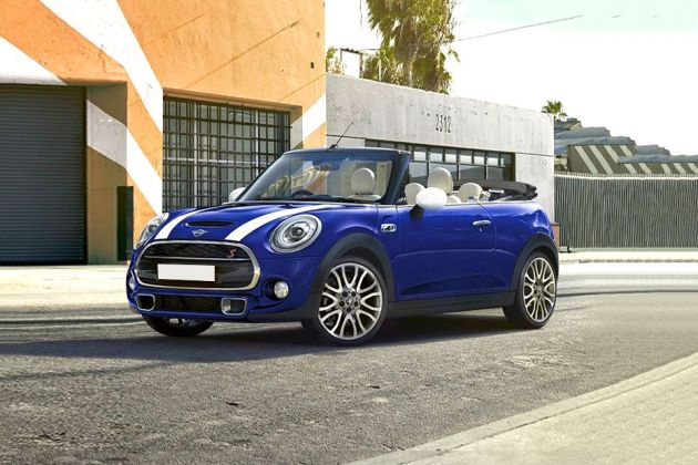 Mini Cooper Convertible Front Left Side Image