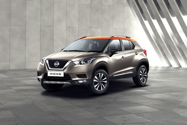 Nissan Kicks Front Left Side Image