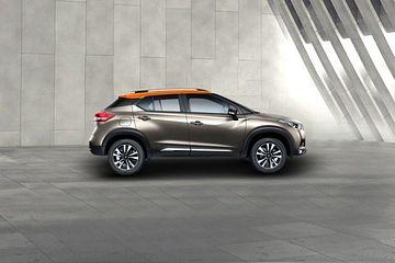 Nissan Kicks Side View (Left)  Image