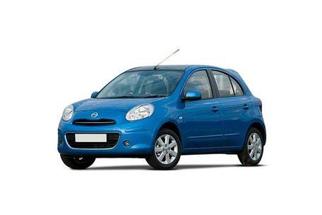 Nissan Micra 2010-2012 Front Left Side Image