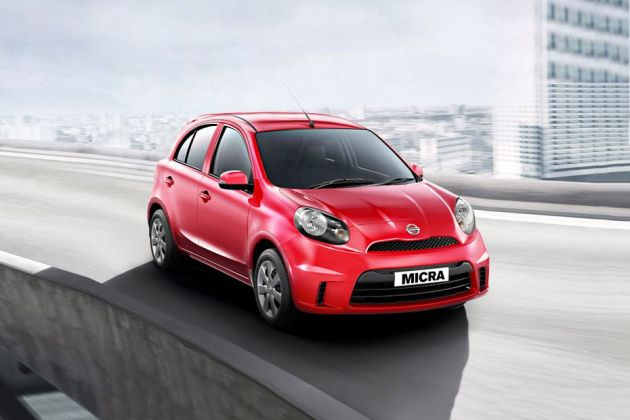 Nissan Micra Active Front Left Side Image