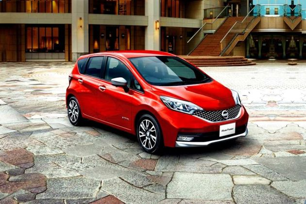 Nissan Note e Power Front Left Side Image