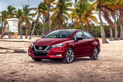 Nissan Sunny 2020 Front Left Side Image