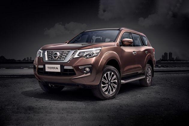 Nissan Terra Front Left Side Image