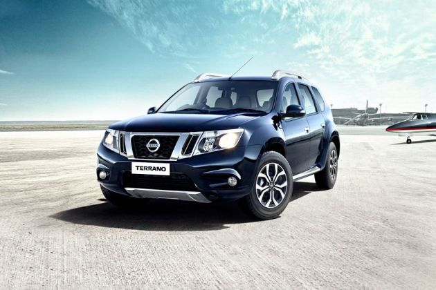 Nissan Terrano Front Left Side Image