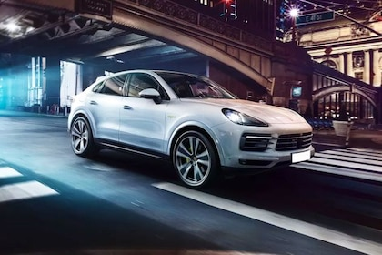 Porsche Cayenne Coupe Front Left Side Image