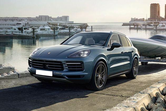 Porsche Cayenne Front Left Side Image