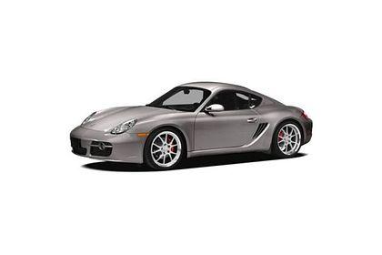 Porsche Cayman Front Left Side Image