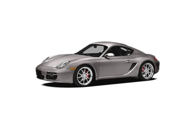 Porsche Cayman Front Left Side Image