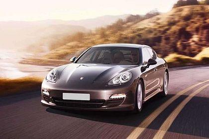 Porsche Panamera Front Left Side Image