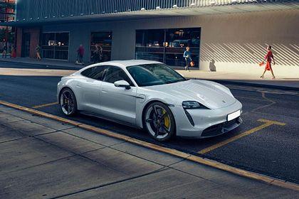 Porsche Taycan Front Left Side Image