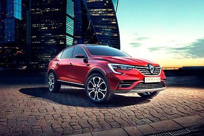 Renault Arkana Front Left Side Image