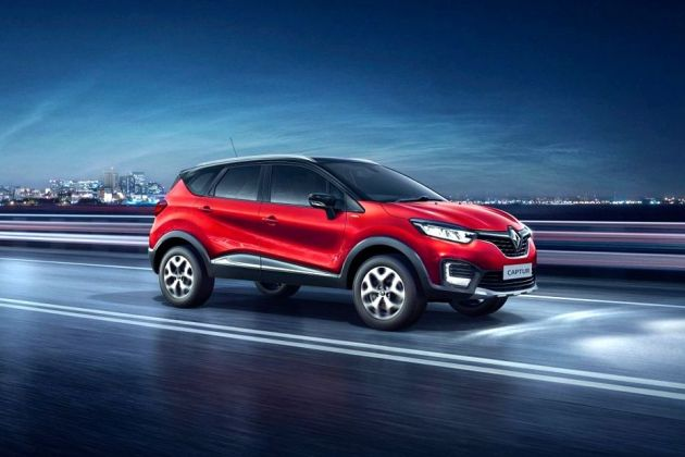 Renault Captur Front Left Side Image