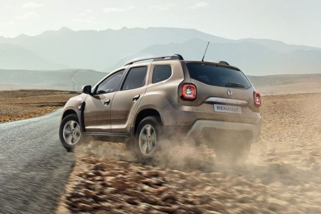 Renault Duster 2020 Rear Left View Image
