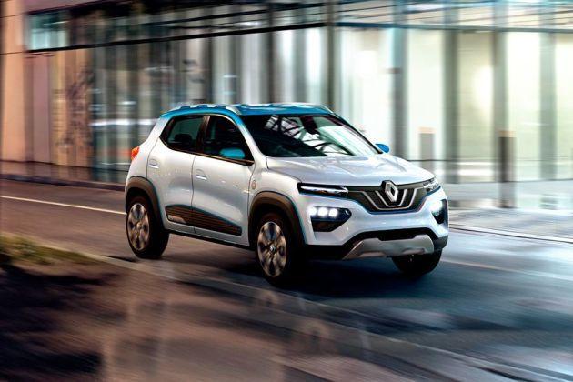 Renault Kwid EV Front Left Side Image