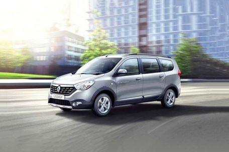 Renault Lodgy Front Left Side Image