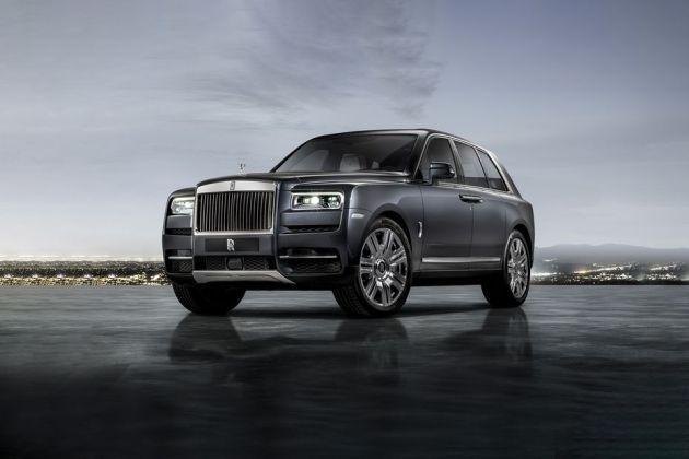 Rolls-Royce Cullinan Front Left Side Image
